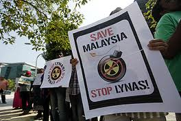 Lynas Malaysia protest