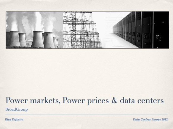 Power markets, power prices and data centers 1