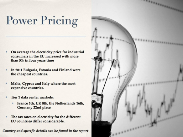 Power markets, power prices and data centers 8